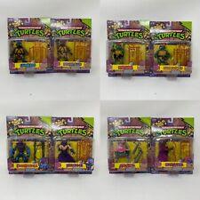 Lot of 8 - Playmates TMNT Teenage Mutant Ninja Turtles Classic Collection