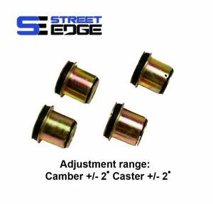 Street Edge Front Camber Bushings 99-18 Chevy Silverado & GMC Sierra 2wd/4wd