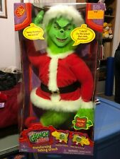 Dr Suess How The Grinch Stole Christmas Transforming Talking Plush Doll 2000 NEW