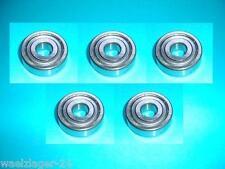 5 Rillenkugellager Kugellager 6303 ZZ 2Z 2ZR  FAG / SKF