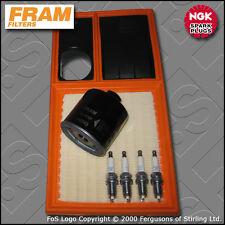 SERVICE KIT VW GOLF MK6 1.4 16V CGGA FRAM OIL AIR FILTERS PLUGS (2008-2012)