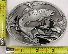 BASS FISHING BELT BUCKLE FISH FISHERMAN FISHER B30