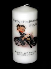 BETTY BOOP 18th - 60th   BIRTHDAY  Personalised Gift Unique #1