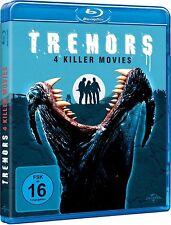 TREMORS 1-4 (Kevin Bacon, Fred Ward) 4 Blu-ray Discs NEU+OVP