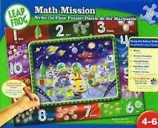Leap Frog PreK learning lot Math Mission + 6 puzzles! Alphabets NEW!