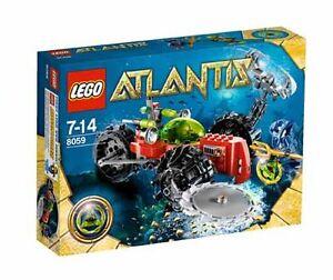 LEGO 8059 Atlantis Seabed Scavenger New Sealed Retired Set 2010