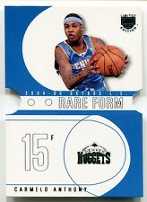 2004-05 Skybox LE Rare Form CARMELO ANTHONY Die Cut SP 1:576 packs!