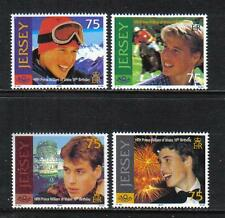 Jersey 2000 Prince William 18th Birthday-Attractive Topical (958-61) Mnh