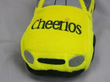 CHEERIOS POP SECRET GENERAL MILLS NASCAR RACE CAR 26 YELLOW BLACK PLUSH TOY