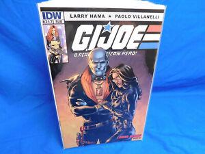 IDW COMICS GI JOE A REAL AMERICAN HERO #217 Sub Cover Variant Larry Hama