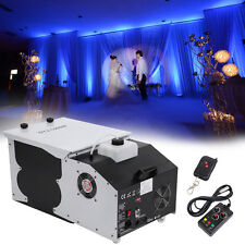 Smoke Fog Machine Low Lying Ground Emitter 1500W Wedding Party DJ Dance Stage