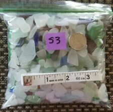 Genuine Surf Tumbled Sea Glass 2 lbs OVER 600 Pieces Puerto Rico #S3