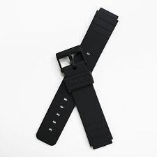 Brand New Casio MQ24CC MQ24 Mens Black Resin Rubber 16mm Replacement Watch Band