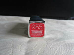 Maybelline Matte/Mat 955 Craving Coral Lipstick New