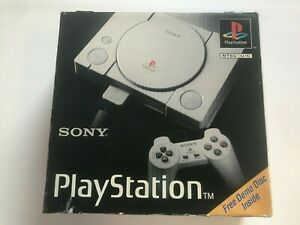 Sony  SCPH-1001 Playstation Launch Edition Console - With Box