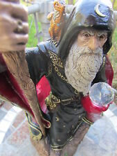 Windstone Editions-Large Wizard-Retired From 1986-By Artist M. Pena