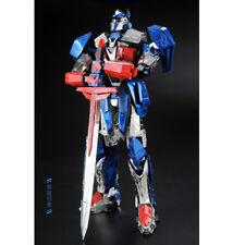 MU 3D Metal Puzzle Optimus Prime Transformers DIY Home Artwork Craft