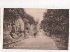 East Grinstead Hermitage Lane Sussex Vintage Postcard 689a