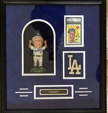 Tommy Lasorda Dodgers Custom Framed Bobble Head  GNOME Signed PSA/DNA
