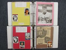 Dodgers(2 Notebooks/221 Pages/100 Autographs/261 Players/Many Obits/DON DRYSDALE