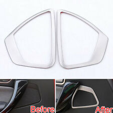 2x Front Door Speaker Sound Trim Ring Cover For BMW 1 Series F20 116i 118i 13-14