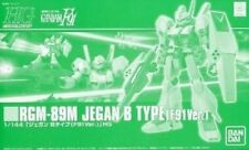 BANDAI HGUC 1/144 RGM-89M JEGAN B TYPE F91 Ver Plastic Model Kit Gundam F91 NEW