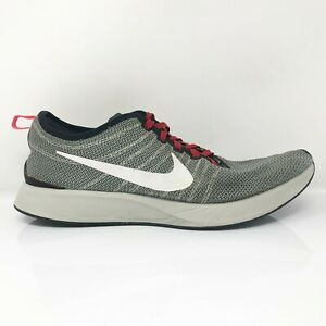 Nike Mens Dualtone Racer 918227-001 Gray Running Shoes Lace Up Low Top Size 13
