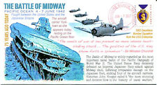 COVERSCAPE computer generated 75th anniversary Battle of Midway event cover