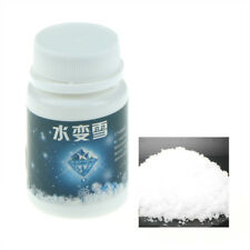 Fake Artificial Fluffy Snow Powder Instant Snow To Go Decor Just Add Water EBZY