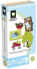 """Cricut Cartridge - """"Just Because""""  Cards - Envelopes - All Occasion"""