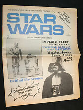 Star Wars Newspaper of Science Fiction and Fantasy Vol.1 #1 (Vf+) 1977