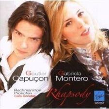 "CAPUCON/MONTERO ""RHAPSODY (CELLOSONATEN)"" CD NEU"