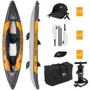 Aqua Marina Memba-390 Inflatable Kajak Aufblasbares Kayak Kanu Boot 2 Personen