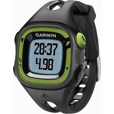 Original Uhr Garmin Forerunner 15 Running Schwarz und grün gps 010-01241-30