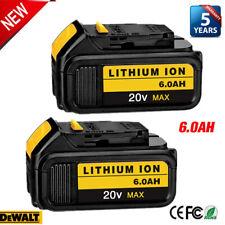 For DeWalt 20V 20 Volt Max XR 6.0AH Lithium Ion Battery DCB206-2 DCB205-2 DCB200