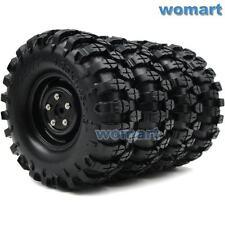 4 Stück RC 1.9 Reifen Tires 108mm Hex 12mm Felge Wheels für 1:10 RC Rock Crawler