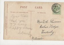 Miss Elsie Thurman Cookes Lodge Enderby 1909  782a