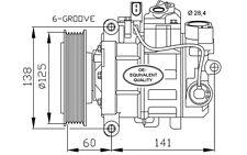 NRF Compresor, aire acondicionado AUDI A4 A5 Q5 A6 32512