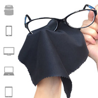 10pcs Microfiber Phone Screen Camera Lens Glasses Cleaning Cloth Square Cleaner