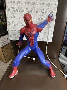 """HASBRO 2012 Spiderman Motorised Marvel Web Shooter Web Slinger Sound14"""" figure"""