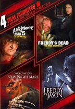 4 Film Favorite Nightmare on Elm Stre 0794043124426 DVD Region 1