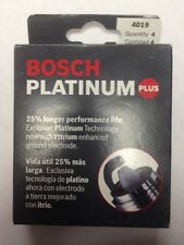 Bosch Platinum Plus 4019 Set Of 4 Plugs WR8DPX 0242229557