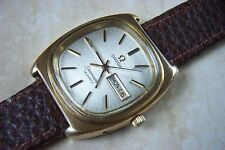 Gold Plated Case Men's Quartz (Battery) OMEGA Wristwatches
