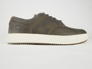 Mens Timberland City Roam Cupsole Bas Canteen A1S6X Olive Leather Casual Shoes