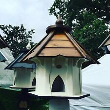 DOVECOTE DOVECOTES DOVE COTE WITH BROWN WOODEN ROOF
