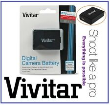 Hi Capacity Vivitar LPE10 Lithium Ion Battery for Canon LP-E10
