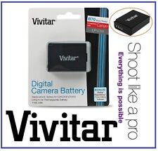 Hi Capacity Vivitar LP-E10 Lithium Ion Battery for Canon LP-E10