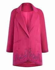 Button Wool Embellished Coats & Jackets for Women