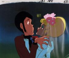 Lupin III the Third Anime Cel Animation Art Part 2 Red Jacket Monkey Punch 1980