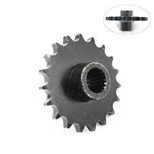 19 Teeth 428 Long Front Chain Sprocket Cog Gy6 150cc Quad Dirt Bike ATV Buggy